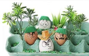 ovos divertidos