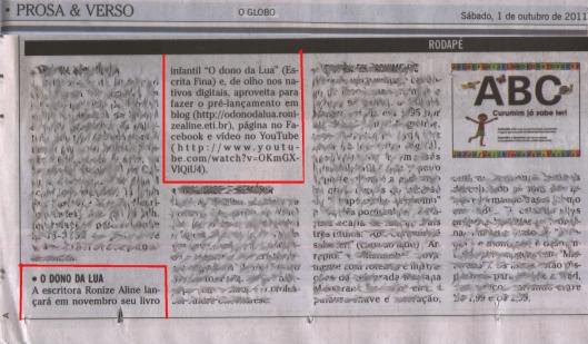 campanha no jornal