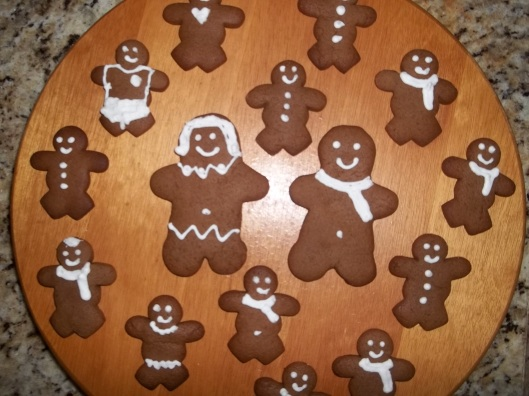 Boneco de Gengibre de biscoito