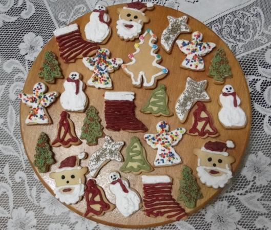 Biscoitos natalinos tradicionais, os mesmos que minha mãe fazia quando eu era criança