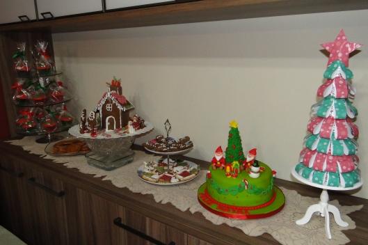 O buffet de doces
