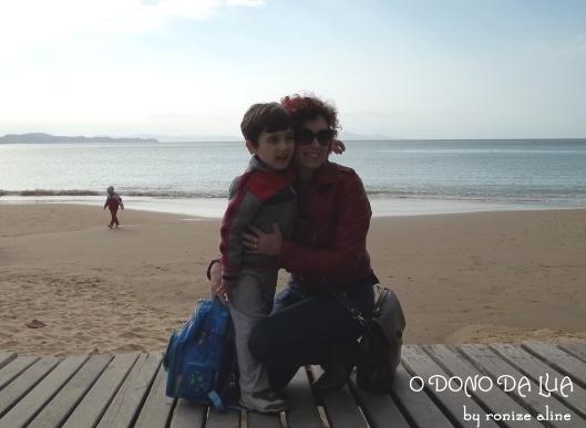 Na Praia de Laranjeiras