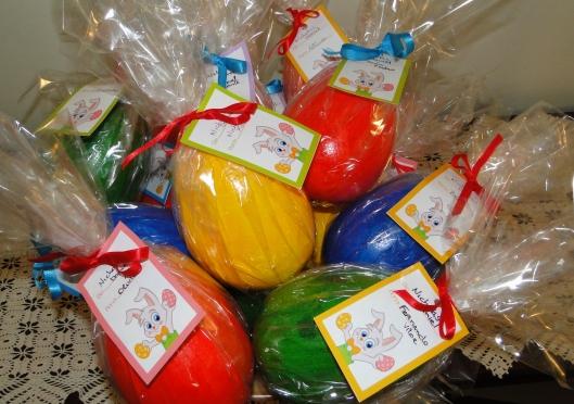 Ovos de isopor para os amigos do Nick